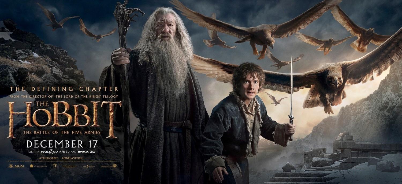 'El hobbit: La batalla de los cinco ejércitos', últimos posters