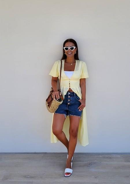 Paula Echevarria Vestido Amarillo