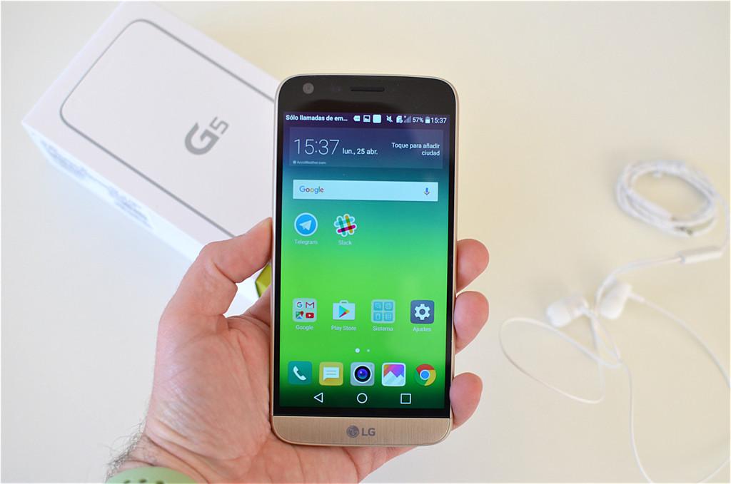 LG G5 mis à jour pour Android 8.0 Flash