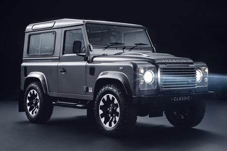 Land Rover Classic insufla vida al incombustible Defender con mejoras mecánicas y a nivel de chasis
