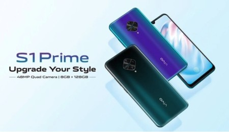 Vivo S1 Prime: una nueva línea media con cámaras cuádruples y AMOLED
