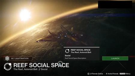 Parece que los usuarios de Destiny contarán con un nuevo punto de encuentro