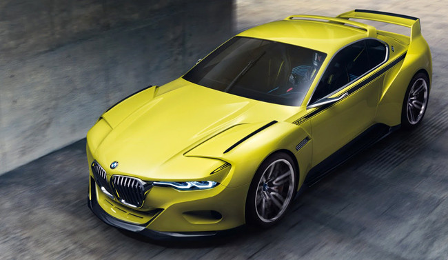 "BMW 3.0 CSL Hommage Concept, todo un homenaje al CSL ""batmóvil"""