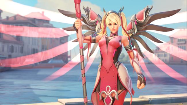 Overwatch: todos los beneficios de esta nueva skin de Mercy serán para la lucha contra el cáncer
