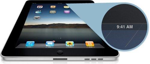 ¿Por qué siempre son las 9:41 en las fotos oficiales del iPad?