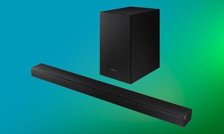 Con la Samsung HW-T550 puedes mejorar el sonido de tu smart TV por sólo 211,65 euros si aprovechas las ofertas Límite 48 Horas de El Corte Inglés