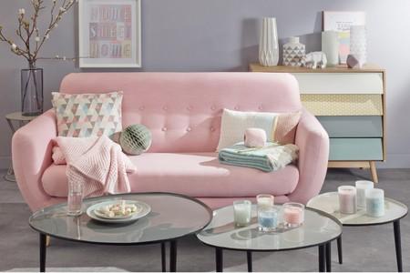 11 detalles blush para maquillar la decoración en tu hogar