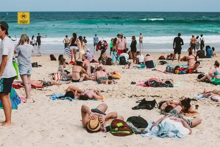 Australia Beach Bikini Bondi Beach Enjoyment Family 1520183 Pxhere Com