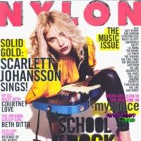 Scarlett Johansson portada de Nylon