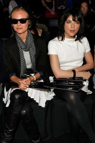 Kruger y Selma Blair