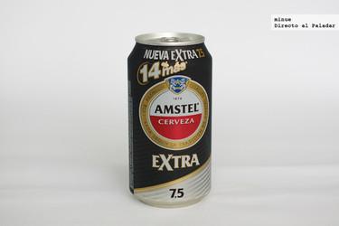 Cata de cerveza Amstel Extra 7.5