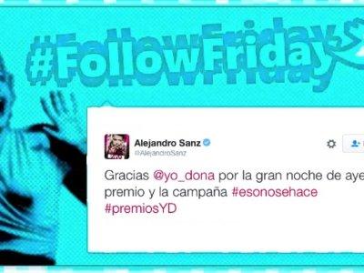 #FollowFriday de Poprosa: de Premios Yo Dona y de lo bien que se lo pasan en 'Velvet'