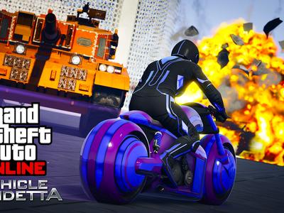 GTA Online recibe la moto Pegassi FCR 1000 y el nuevo modo Vendetta al volante; también hay bonificaciones y descuentos en armas