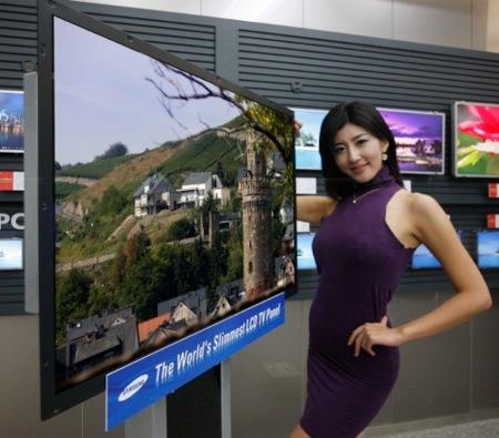 Samsung sigue poniendo a dieta a sus televisores LED