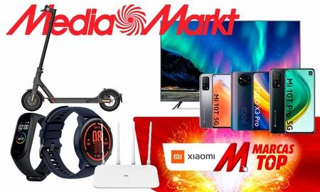 Brand Day Xiaomi en MediaMarkt: smartphones, smart TVs, patinetes eléctricos, relojes y pulseras deportivos y más a precios superrebajados