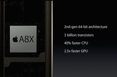 Análisis Ipad Air 2 A8x Aps