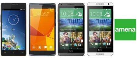 Kazam Tornado 348, HTC Desire 610, Desire 816 y Alcatel Nura son las novedades de Amena en navidad