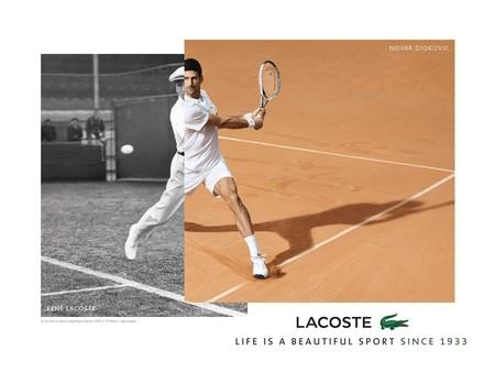 Novak Djokovic En Piel De Cocodrilo El Tenista Es Ahora Embajador De Estilo De Lacoste