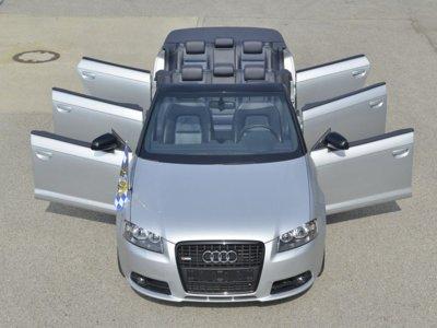Los VIP en Ingolstadt van en Audi A3... Pero no cualquier A3