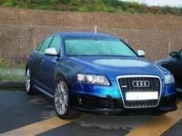 Audi RS6 cazado en España
