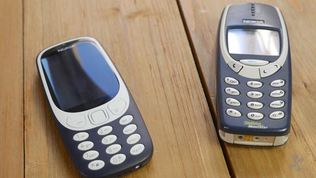 Nokia 3310 Nuevo Vs Antiguo