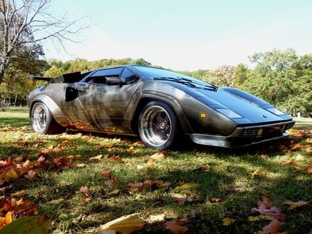 A La Venta Replica De Lamborghini Countach Hecha A Mano Durante