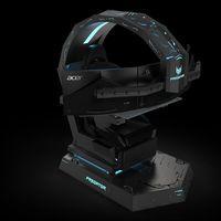 Un trono para sentirse el rey del gaming: así es la impresionante Acer Predator Thronos