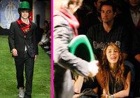 Miley Cyrus acude al desfile de su supuesto novio