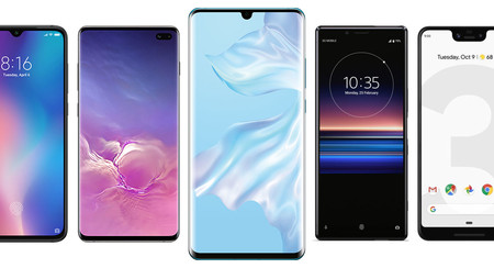 Huawei P30 y Huawei P30 Pro, comparativa: así quedan contra Samsung Galaxy S10+, Xiaomi Mi 9 y resto de gama alta