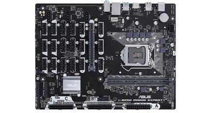 19 GPUs en una sola placa base: la nueva arma de Asus para la minería de criptomonedas
