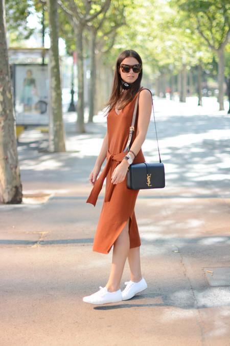 Vestidos Anudados Mangas Tendencias Verano 2015 3