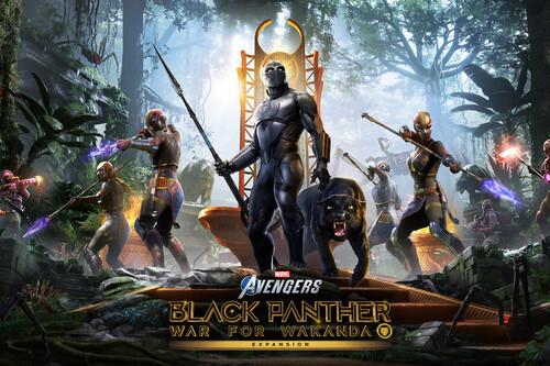 Marvel's Avengers llega esta semana a Xbox Game Pass para PC, y trae consigo War for Wakanda y otros contenidos gratis