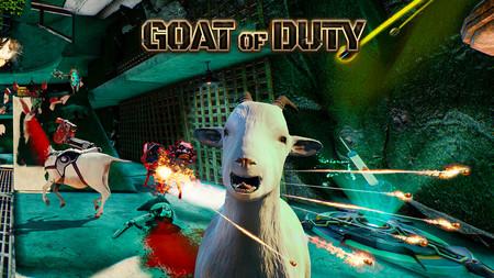 Goat of Duty: las cabras más destructoras del universo llegarán a Steam la próxima semana