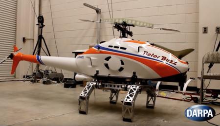 El helicóptero de este vídeo es capaz de aterrizar casi en cualquier sitio comportándose como un insecto