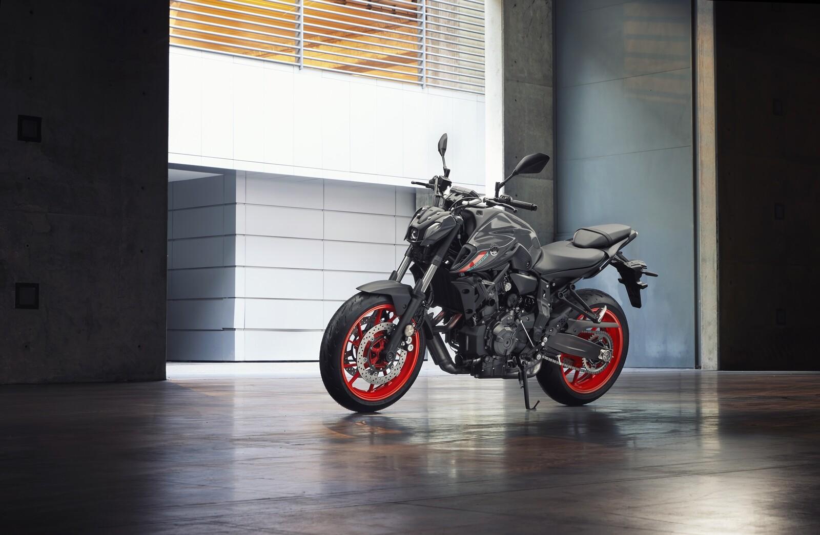 Foto de Yamaha MT-07 2021, prueba (29/75)