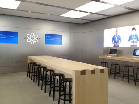 Apple está probando nuevas formas de distribuir las Genius Bar