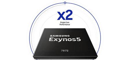 Nuevo Exynos 7872: seis núcleos con escaneo de iris y cámara lenta para la gama media