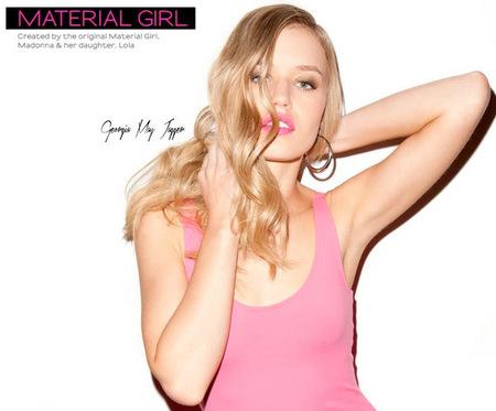 Georgia May Jagger es la nueva imagen de Material Girl
