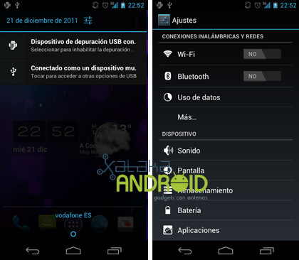 Capturas ICS