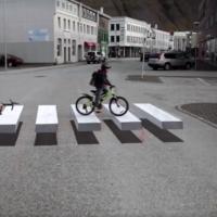 Islandia quiere jubilar los topes con pasos peatonales en 3D
