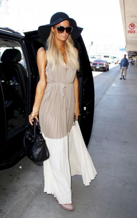 Regreso de vacaciones: ¡sorpresa! Imitemos a Paris Hilton