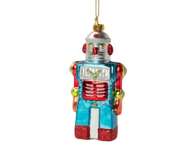 Decora tu rbol de navidad con estos divertidos robots - Decora tu arbol de navidad ...