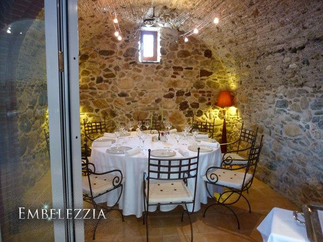 la sala más pequeña del restaurante
