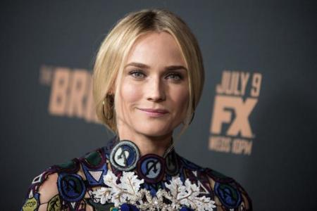 Diane Kruger de 10 en la presentación de la segunda temporada de The Bridge en Los Angeles