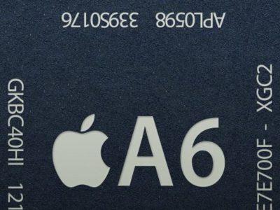 Apple A6, el procesador del iPhone 5