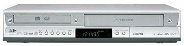 Combo DVD y VHS de JVC