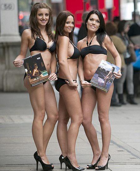 Foto de Calendario Ryanair 2010, azafatas en bikini con un fin benéfico (1/9)