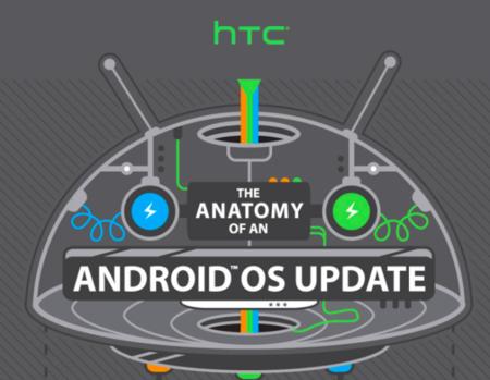 La anatomía de una actualización de Android, infografía