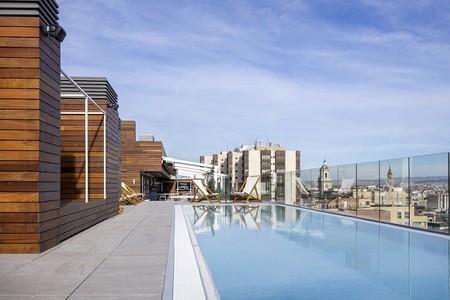 Piscina con vistas Zaragoza