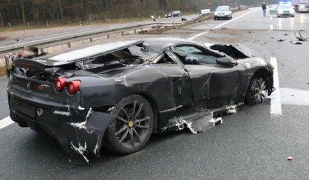Dolorpasión™: Un Ferrari 430 Scuderia, una Autobahn, lluvia y velocidad...